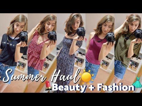 HUGE SUMMER HAUL | Beauty + Fashion