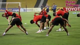 Training session of Bangluru FC India.