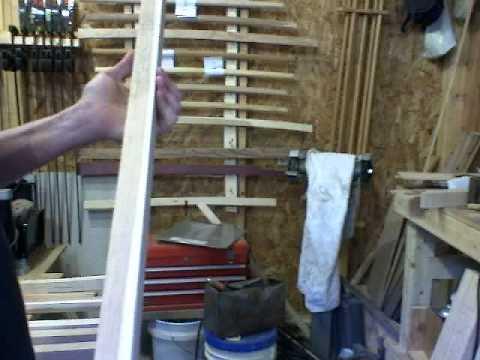 Making Your Own Bokken- Grading The Blanks.wmv