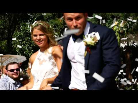 Single No Moe... Taylor and Caroline get married   July 2017 in Atherton, CA