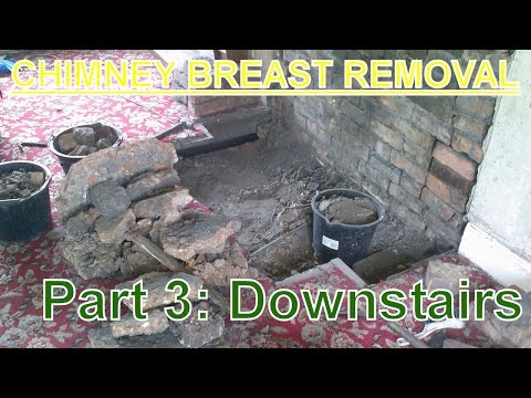 Chimney Breast Removal (part 3) Downstairs / Living Room