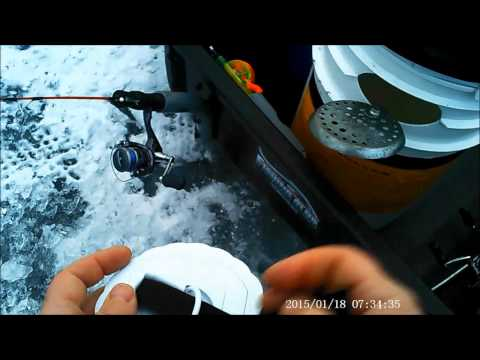 Anchor & Light for ice fishing portable shanty