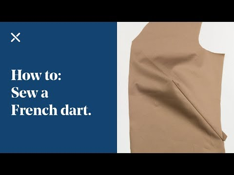 How To: Sew a French Dart | Cutaway Dart