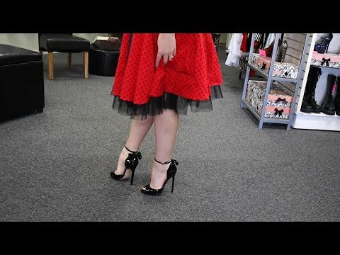 Xxx Mp4 Unboxing Pleaser Black 5 Inch Single Sole High Heel Shoes With Bow Detail 3gp Sex