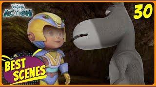 BEST SCENES of VIR THE ROBOT BOY | Animated Series For Kids | #30 | WowKidz Action