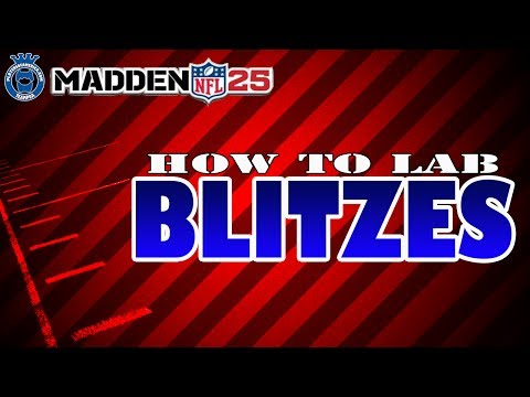Madden 25 | How to Lab Blitzes