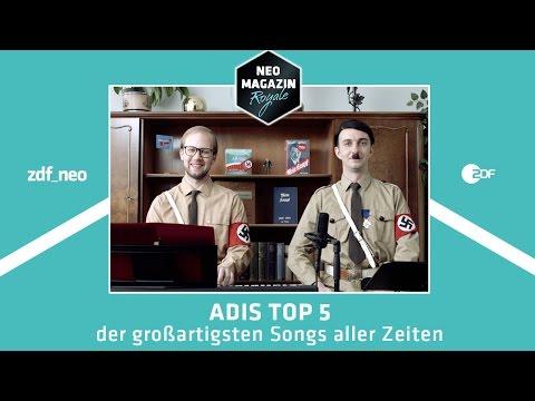 Adis Top 5 der großartigsten Songs aller Zeiten | NEO MAGAZIN ROYALE mit Jan Böhmermann - ZDFneo