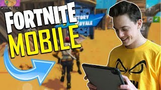 Download FAST MOBILE BUILDER on iOS / 1610+ Wins / Fortnite Mobile + Tips & Tricks! Video
