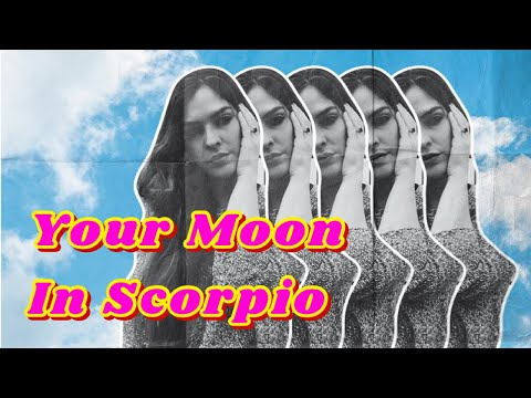 Moon in Scorpio in Astrology