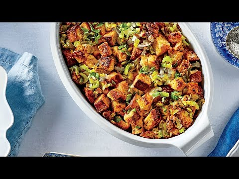 Cornbread Dressing with Sausage and Fennel   Southern Living