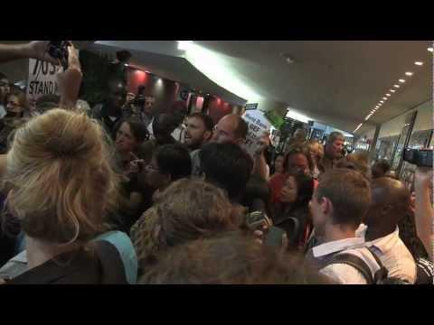 Occupy Cop 17, UN Climate talks, last day