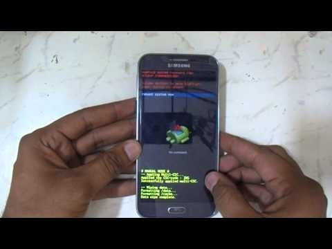 Samsung Galaxy E5 E500H Eazy Pattern Reset And Hard Reset  Youtube