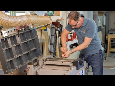 A-Z of Jointer Set Up & Maintenance - Peter Sefton (Trailer)