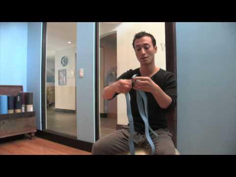 How to Tie Yoga Straps