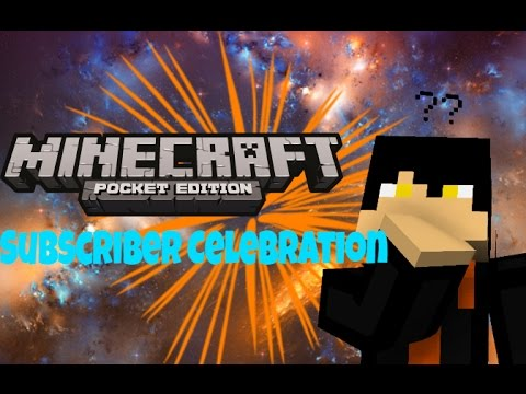 Subscriber Celebration[MinecraftPE]