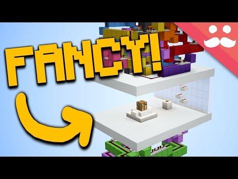 FANCIEST Hidden Crafting Bench in Minecraft!