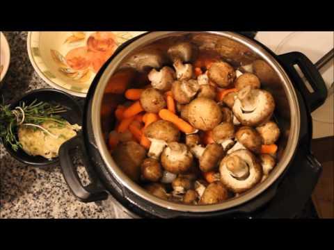 Instant Pot Pressure Cooker Coq Au Vin (Chicken in Red Wine)