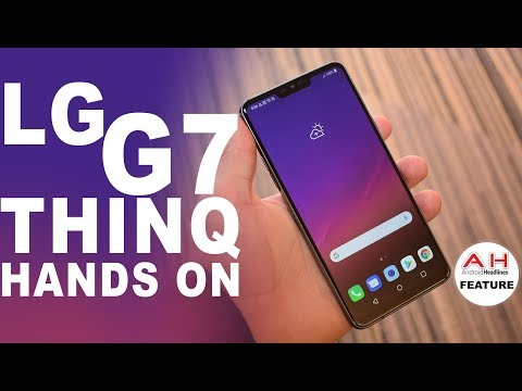LG G7 ThinQ Hands On - Tall, Sleek and Really Loud