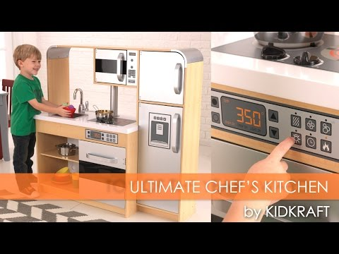 Children's Ultimate Chef's Play Kitchen - Toy Review