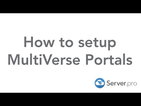 How to setup Multiverse Portals on your minecraft server - Server.pro