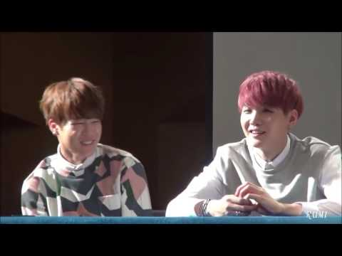 [ENG] 150517 BTS Suga, Rap Monster and Jin talk about what they ate (By RUMI) Leigh LeRiddick