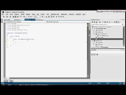 WCF Asynchronous Programming : C#5.0 Async and Await using Visual studio 2012