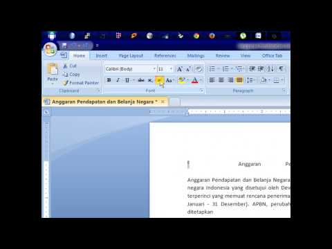 How to make degrees Celsius in MS Word