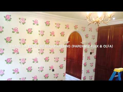 How To Repair Blown Plaster Using Dunlop ProDecor During a Complete Make Over