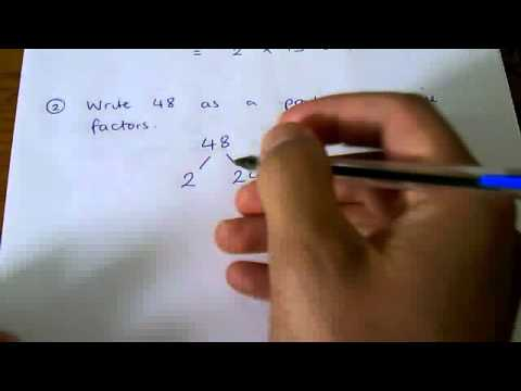 How to - express a number as a product of prime factors