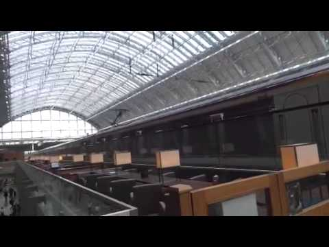 St Pancras Chunnel Train..London to Paris