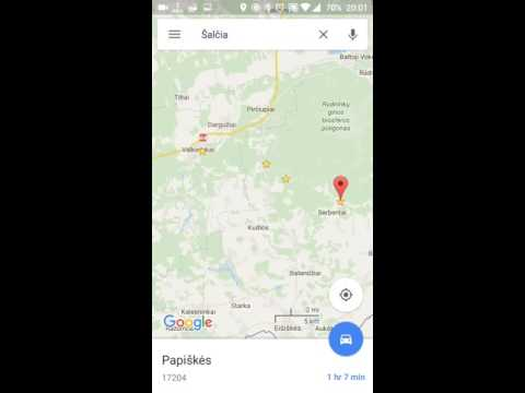 How to measure distance on Google Maps application on Android