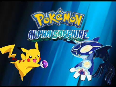 When You Are Given A MasterBall Use It. Pokemon Alpha Saphire