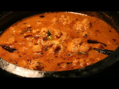 Naadan Varutharacha Cauliflower Curry/Simple and Delicious !