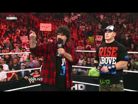 WWE Monday Night Raw 11/14/11 (Raw Gets Rocked)