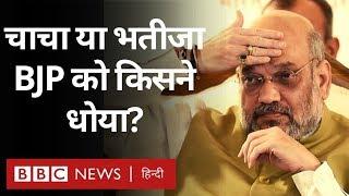 Maharashtra में Sharad Pawar या Ajit Pawar किसने BJP की हार की कहानी लिखी (BBC Hindi)