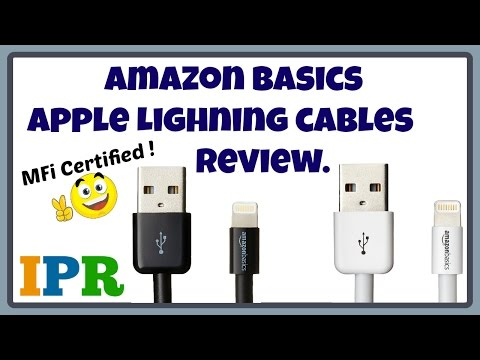 Amazon basics lightning cable review (india) | Indian Product Reviewer