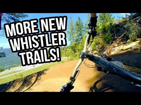 MORE New Whistler Mountain Bike Park Trails - Insomnia