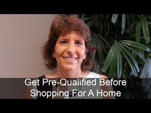 Get Pre-Qualified For A Mortgage Before Shopping For A Home