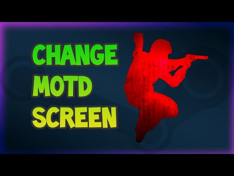 How To Change MOTD Screen In Counter-Strike 1.6 Server