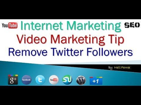 How to Remove Twitter Followers in Bulk
