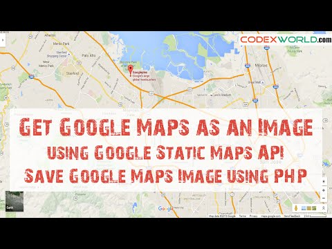Get Google Maps as an Image using Google Static Maps API