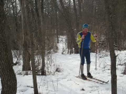 How to Cross Country Ski: Pt. 2 of 4 -- Uphill Basics