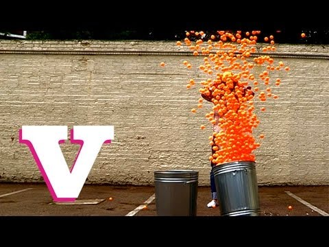 Ping Pong Ball Explosion: The Little Bang Theory
