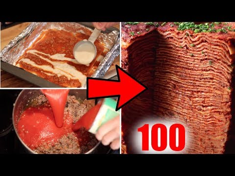 100 Layer Lasagna Review- Buzzfeed Test #120