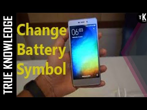 How to Change Battery Symbol|Percentage Indication|Green Bar|in|RedMI 3s/Prime|No Need Extra Theme|