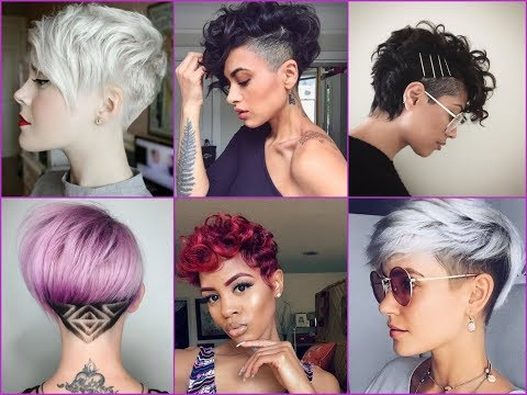 Latest Short and Long Pixie Cuts Ideas for Summer 2018