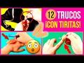 12 TRUCOS con TIRITAS o CURITAS (Life Hacks) * ¡Las mejores maneras de usarlas!