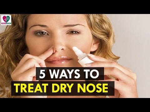 5 Ways to Treat Dry Nose - Health Sutra