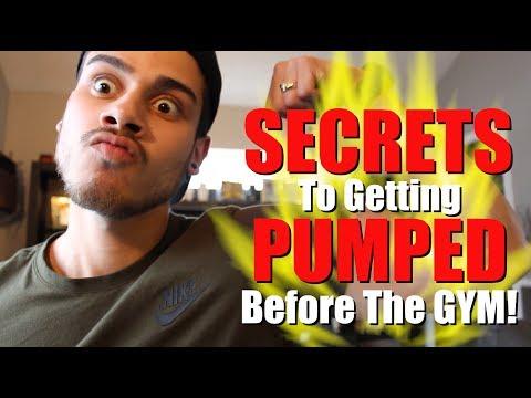 GYM SECRETS to getting PUMPED!