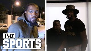 Kevin Durant & DeAndre Jordan Dinner Date After Warriors Blow Out Clippers | TMZ